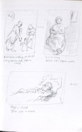Untitled (After Rembrandt), Illustration 6 in the book Journal (Importance of Drawing, II)