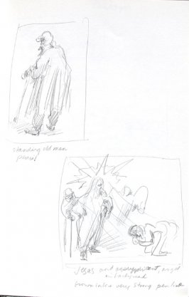 Untitled (After Rembrandt), Illustration 8 in the book Journal (Importance of Drawing, II)