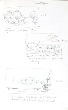 Untitled (After Rembrandt), Illustration 9 in the book Journal (Importance of Drawing, II)