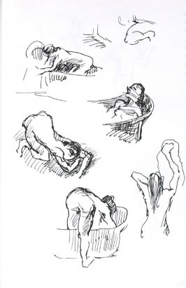 Untitled (After Degas), Illustration 11 in the book Journal (Importance of Drawing, II)