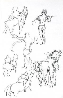 Untitled (After Degas), Illustration 12 in the book Journal (Importance of Drawing, II)