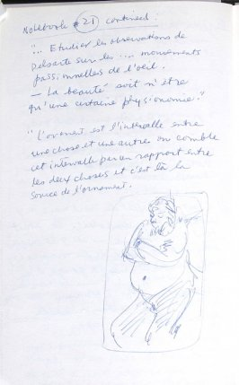 Untitled (After Degas), Illustration 16 in the book Journal (Importance of Drawing, II)