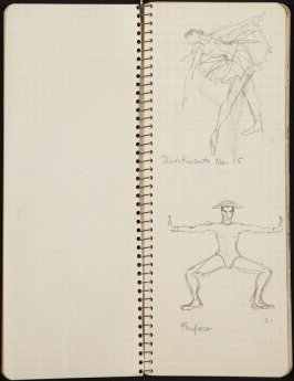 Allegro Brillante, Illustration 4 in the book Sketchbook (Ballet, People, Paris)
