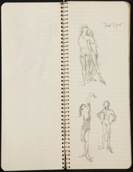Untitled (Gift), Illustration 9 in the book Sketchbook (Ballet, People, Paris)