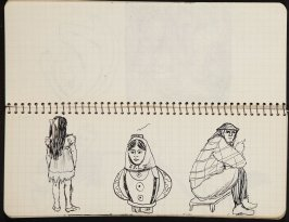 Untitled (Dancer), Illustration 16 in the book Sketchbook (Ballet, People, Paris)