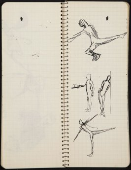 Untitled (Poem), Illustration 18 in the book Sketchbook (Ballet, People, Paris)