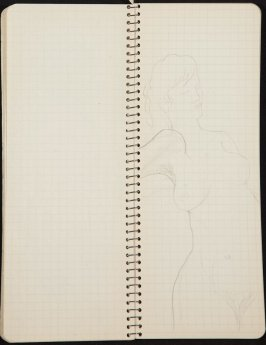Untitled (Man at desk), Illustration 1 in the book Sketchbook (Ballet, People, Paris)
