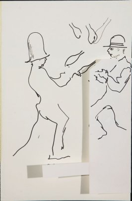 Illustration 1 in the book Sketchbook (Circus auditions, I)