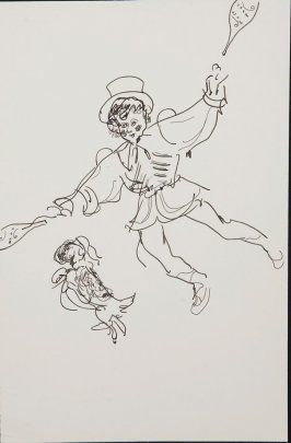 Illustration 2 in the book Sketchbook (Circus auditions, I)