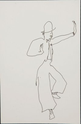 Illustration 3 in the book Sketchbook (Circus auditions, I)