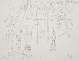 Illustration 7 in the book Sketchbook (Circus auditions, I)