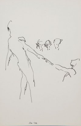 Illustration 1 in the book Sketchbook (Gary Palmer Dance Company)