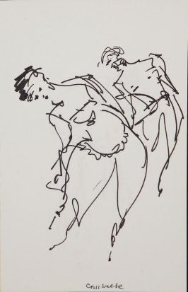 Illustration 5 in the book Sketchbook (Gary Palmer Dance Company)