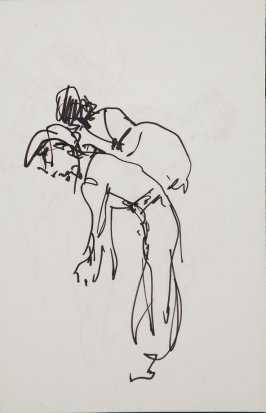 Illustration 6 in the book Sketchbook (Gary Palmer Dance Company)