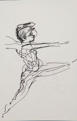 Illustration 9 in the book Sketchbook (Gary Palmer Dance Company)