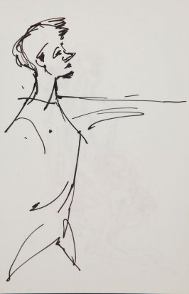 Illustration 11 in the book Sketchbook (Gary Palmer Dance Company)