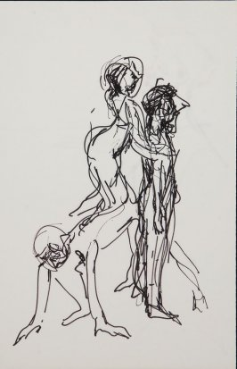 Illustration 12 in the book Sketchbook (Gary Palmer Dance Company)