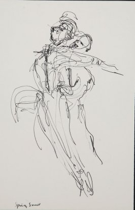 Illustration 14 in the book Sketchbook (Gary Palmer Dance Company)