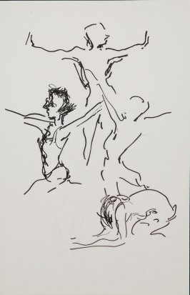 Illustration 17 in the book Sketchbook (Gary Palmer Dance Company)