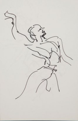 Illustration 18 in the book Sketchbook (Gary Palmer Dance Company)