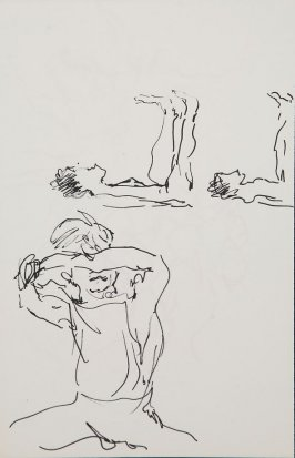 Illustration 20 in the book Sketchbook (Gary Palmer Dance Company)
