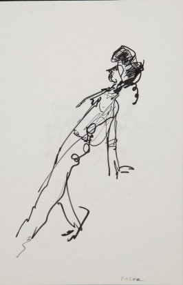 Illustration 22 in the book Sketchbook (Gary Palmer Dance Company)