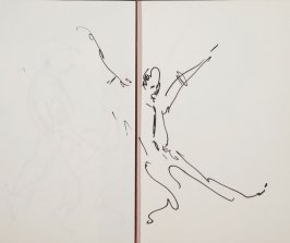Illustration 25 in the book Sketchbook (Gary Palmer Dance Company)