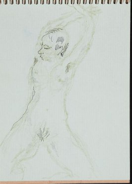 Illustration 7 in the book Sketchbook (Nude Studies of Jonni)