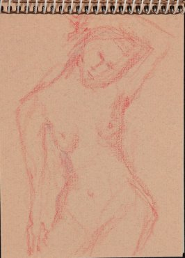 Illustration 16 in the book Sketchbook (Nude Studies of Jonni)
