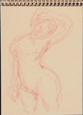 Illustration 20 in the book Sketchbook (Nude Studies of Jonni)