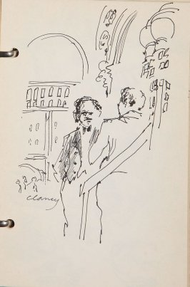 Illustration 9 in the book Sketchbook (New York City)