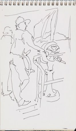 Untitled (Ship captain), Illustration 3 in the book Sketchbook (Jeremiah O'Brien, II)
