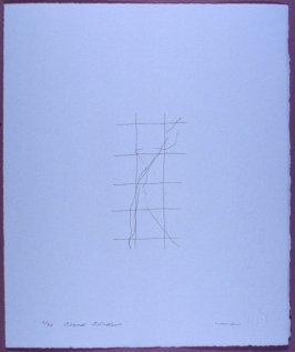 Plate 3 in the book LIGHT A Suite of 10 Etchings & Poems (Fairfax: Jungle Garden Press, 1998)