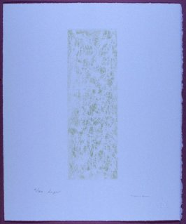 Plate 6 in the book LIGHT A Suite of 10 Etchings & Poems (Fairfax: Jungle Garden Press, 1998)