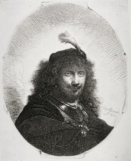 Rembrandt with plumed cap (Copy)