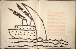 Untitled, in the book The Departure of the Argonaut by Alberto Savinio (translated by George Scrivani (New York and London: Petersburg Press, 1986)