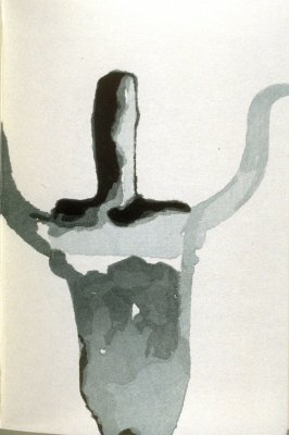 Untitled, second plate in the book Cathay, Poems after Li Po, ([Hadley, MA]: Limited Editions Club, [1992])