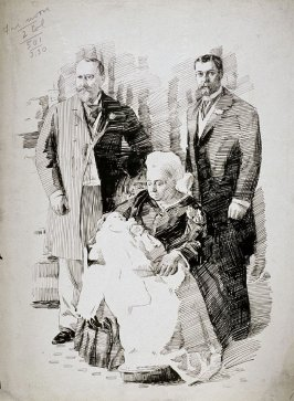 Family Group with Queen Victoria