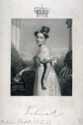 Queen Victoria at the age of 18