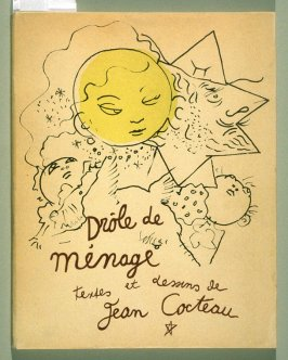 Cover of the book, Drôle de ménage (Paris: Editions Paul Morihien, 1948)