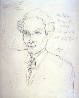 Portrait of Stephen Spender (recto and verso)