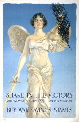 Share in the Victory - World War I poster