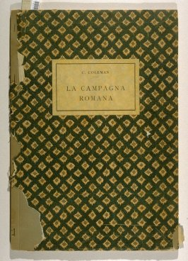 A Series of Subiects [sic] Peculiar to the Campagna of Rome and Pontine Marshes (Rome: n. p., 1929)