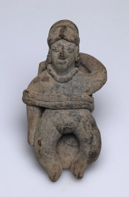 Female Figure on Bier