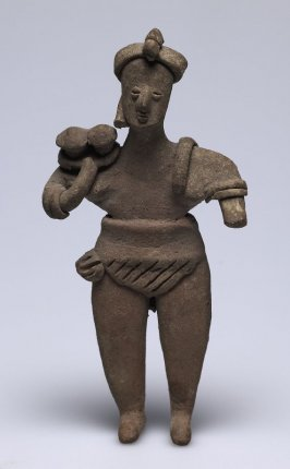Standing Figure Holding a Dish