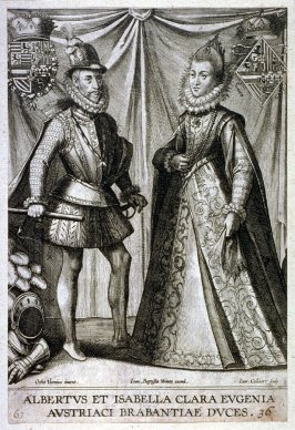 Portraits of Albert and Isabella from Austria and Brabant