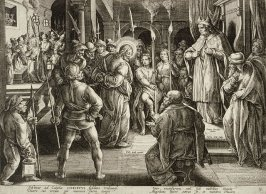 Christ Before Caiaphas, no. 8 from The Passion of Christ