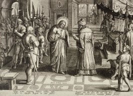 Pilate Asking Christ: Art Thou the King of the Jews, no. 12 from The Passion of Christ