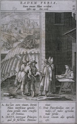 The Parable of the Vineyard, from Evangelicae Historiae Imagines