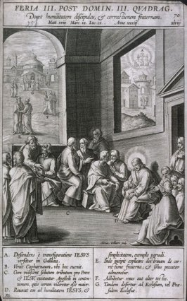 Christ Teaching the Apostles, from Evangelicae Historiae Imagines